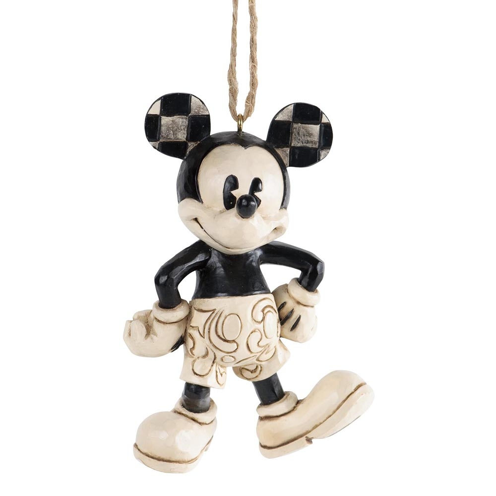 Plane crazy mickey mouse hanging ornament flutterbies